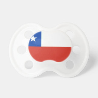 Chile Flag Booginhead Pacifier