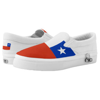 Chile Flag Chilean Slip-On Sneakers