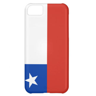 Chile Flag Cover For iPhone 5C