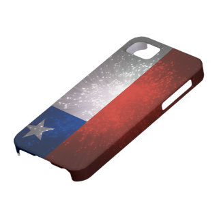 Chile Flag Firework Case For The iPhone 5