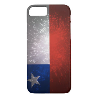Chile Flag Firework iPhone 7 Case