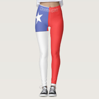 CHILE FLAG LEGGINGS HAVIC ACD