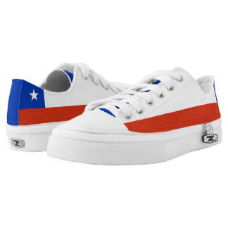Chile Flag Low-Top Sneakers