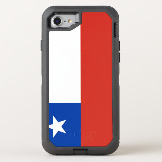 Chile Flag OtterBox Defender iPhone 8/7 Case