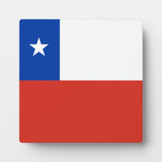 Chile Flag Plaque