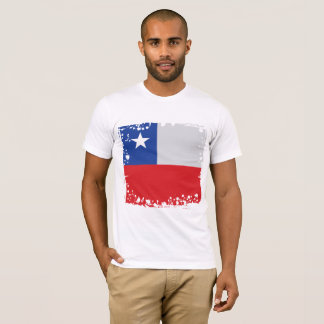 Chile Flag, Simple Chilean Colors t-shirt