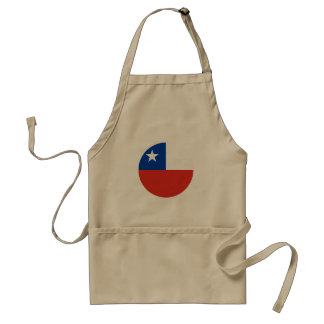Chile Flag Standard Apron
