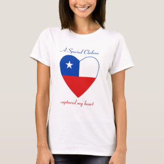 Chile Flag Sweetheart T-Shirt