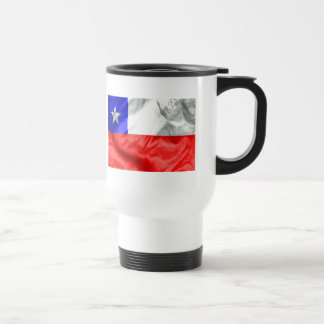 Chile Flag Travel Mug