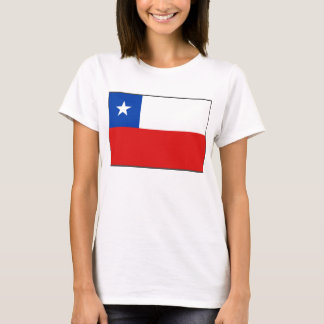 Chile Flag x Map T-Shirt