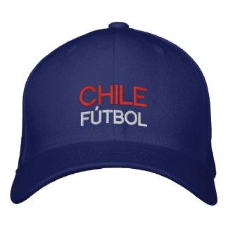 CHILE FUTBOL EMBROIDERED HAT