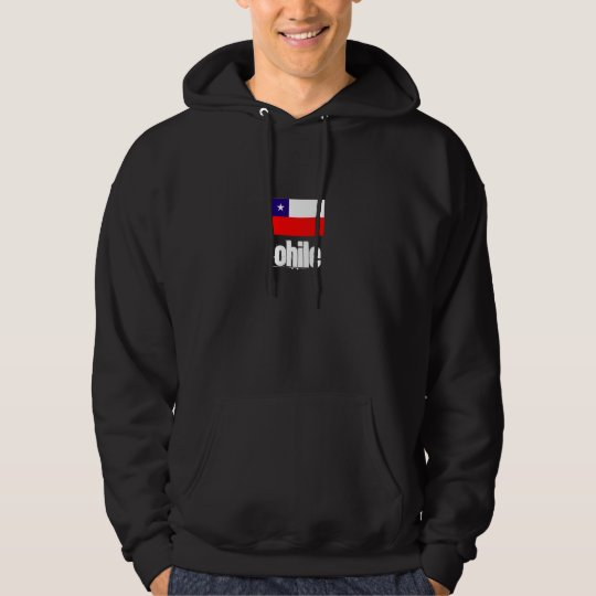 Chile hooded sweat shirt
