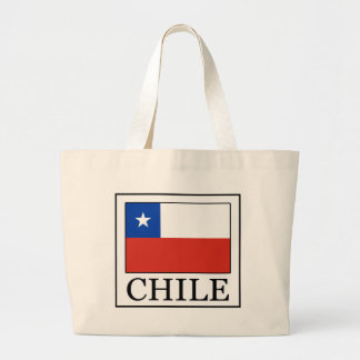 Chile Large Tote Bag