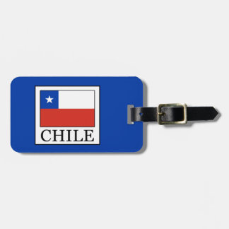 Chile Luggage Tag