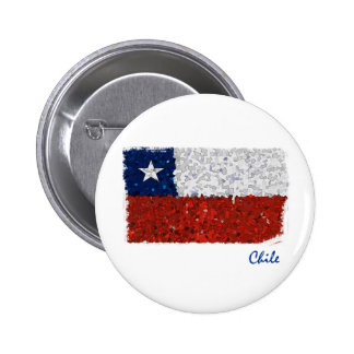 Chile Pintado 2 Inch Round Button