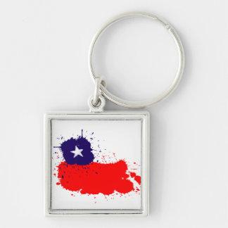 Chile premium keychain