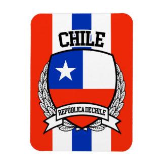 Chile Rectangular Photo Magnet