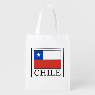 Chile Reusable Grocery Bag