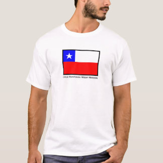 Chile Santiago West LDS Mission T-Shirt