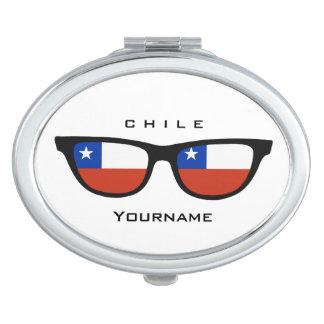 Chile Shades custom pocket mirror Compact Mirrors