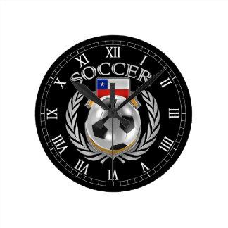 Chile Soccer 2016 Fan Gear Clock