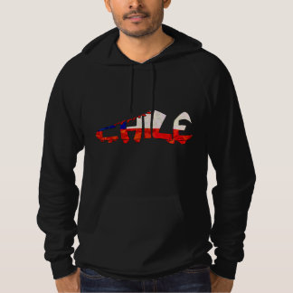 Chile Soccer Cleat Design Hoodie