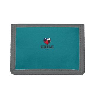 Chile Soccer Shirt 2016 Tri-fold Wallets