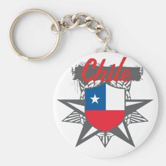 Chile Star Keychain