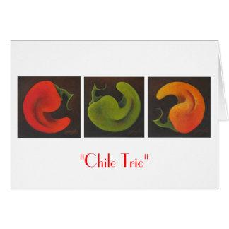 Chile Trio Card