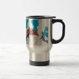 Chile Vintage Travel Poster Travel Mug