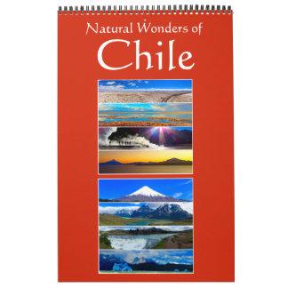 chile wonders wall calendar