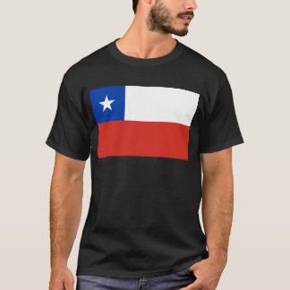 Chile World Flag T-Shirt