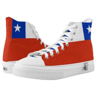Chilean Flag High Tops