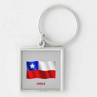 Chilean Flag keychain