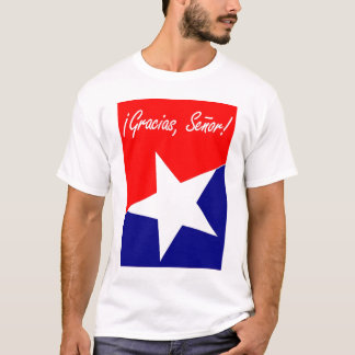 Chilean Miners Gracias, Señor! Psalm 95:4 ENGLISH T-Shirt