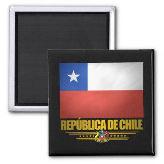 """""""Chilean Pride"""" Square Magnet"""