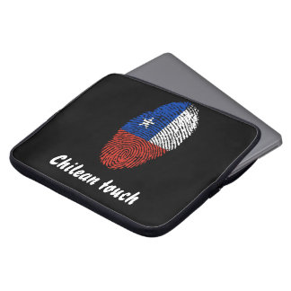 Chilean touch fingerprint flag computer sleeve