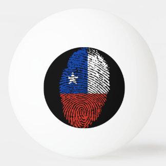 Chilean touch fingerprint flag ping pong ball