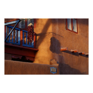 Chiles, Blue & Shadows, photo JLH poster
