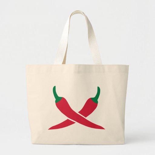 Chili Tote Bags