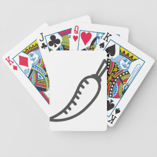 Chili Bicycle Playing Cards