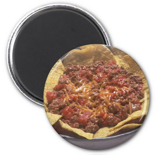 Chili Cheese Nachos Magnets