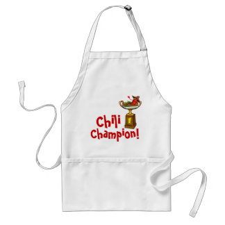 Chili Cook-Off Champion Apron