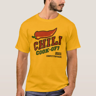 Chili Cook Off Competition T-Shirt