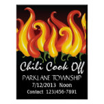 Chili Cook Off Poster - SRF
