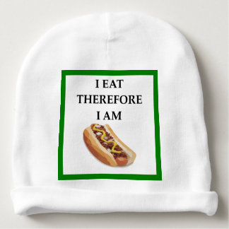 CHILI DOG BABY BEANIE