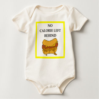 chili dog baby bodysuit