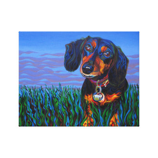Chili Dog Canvas Print