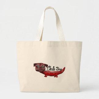 Chili Dog Large Tote Bag