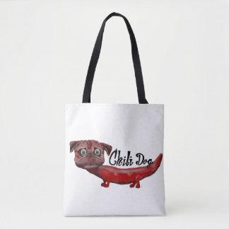 Chili Dog Tote Bag